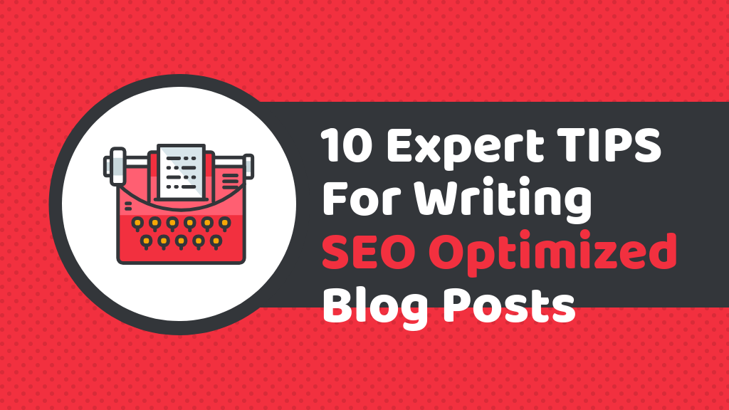 Header for article on how to write SEO optimized blog posts that rank high on Google