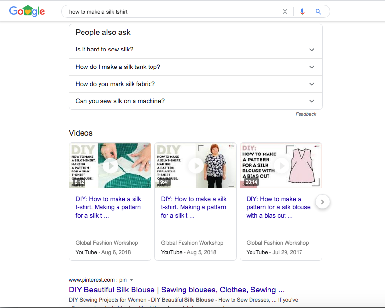 SERP features that diminish your organic CTR